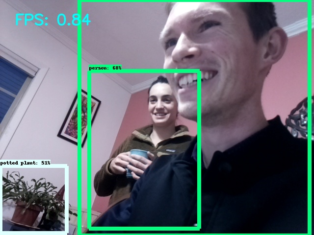 Trying out object recognition